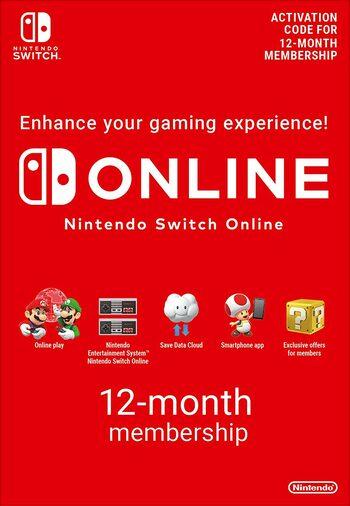 Nintendo Switch Online 12 Monate für 14,05€ (Eneba)