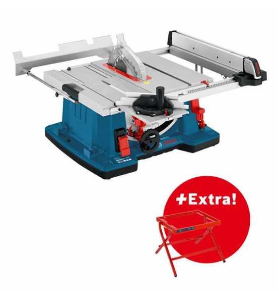 Bosch Professional Tischkreissäge GTS 10 XC und Arbeitstisch GTA 6000