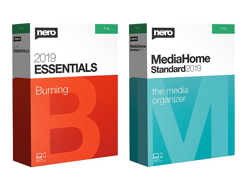Nero 2019 Burn Essentials & Media Home Standard