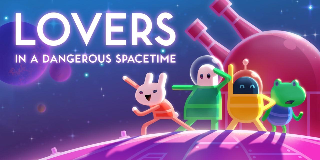 Für den gaming-Valentinstag: Lovers in a Dangerous Spacetime (Switch) - Nintendo eShop Angebot