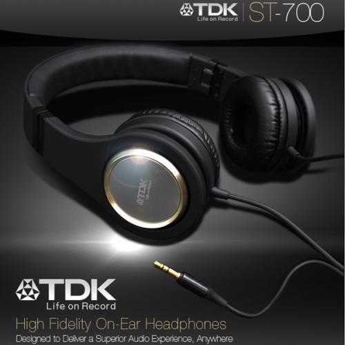 [UPDATE]TDK ST 700 High Fidelity Kopfhörer mit patentierter TDK Life on Record Signature Sound Technologie @ iBood - Extra - Versandkosten sparen durch Eingabe eines Gutscheincodes!!!