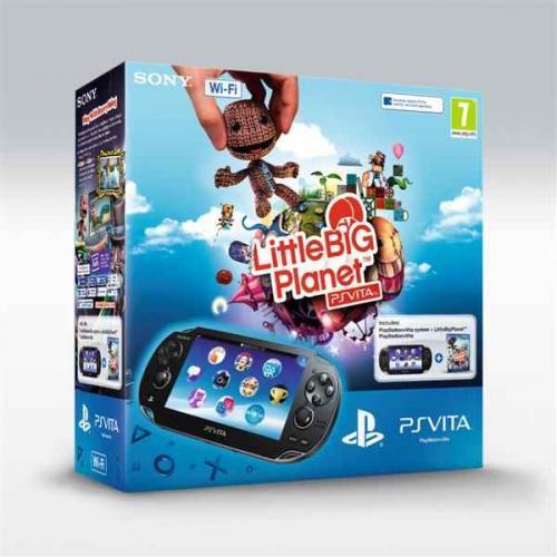 Playstation Vita LittlebigPlanet/Assassin's Creed+4GB Card wifi