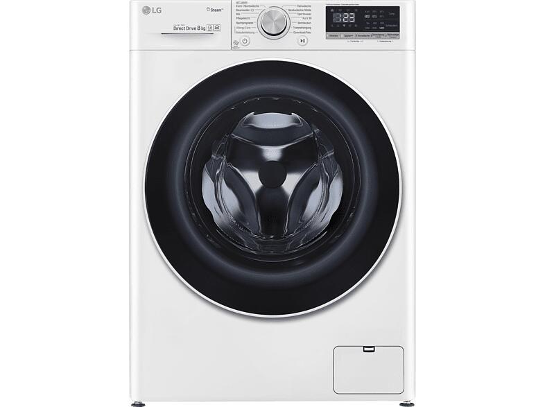 LG F4WV408S0 Serie 4 Waschmaschine 8 kg mit max 1360 U/Min A+++