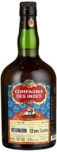 Compagnie des Indes Rum RÉUNION Savanna Distillery 12 Jahre Cask Strength Single Cask 0.7 l