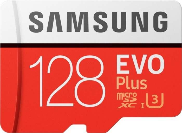 Samsung EVO Plus 2020 R100/W60 microSDXC 128GB Kit, UHS-I U3, Class 10 [Abholung]