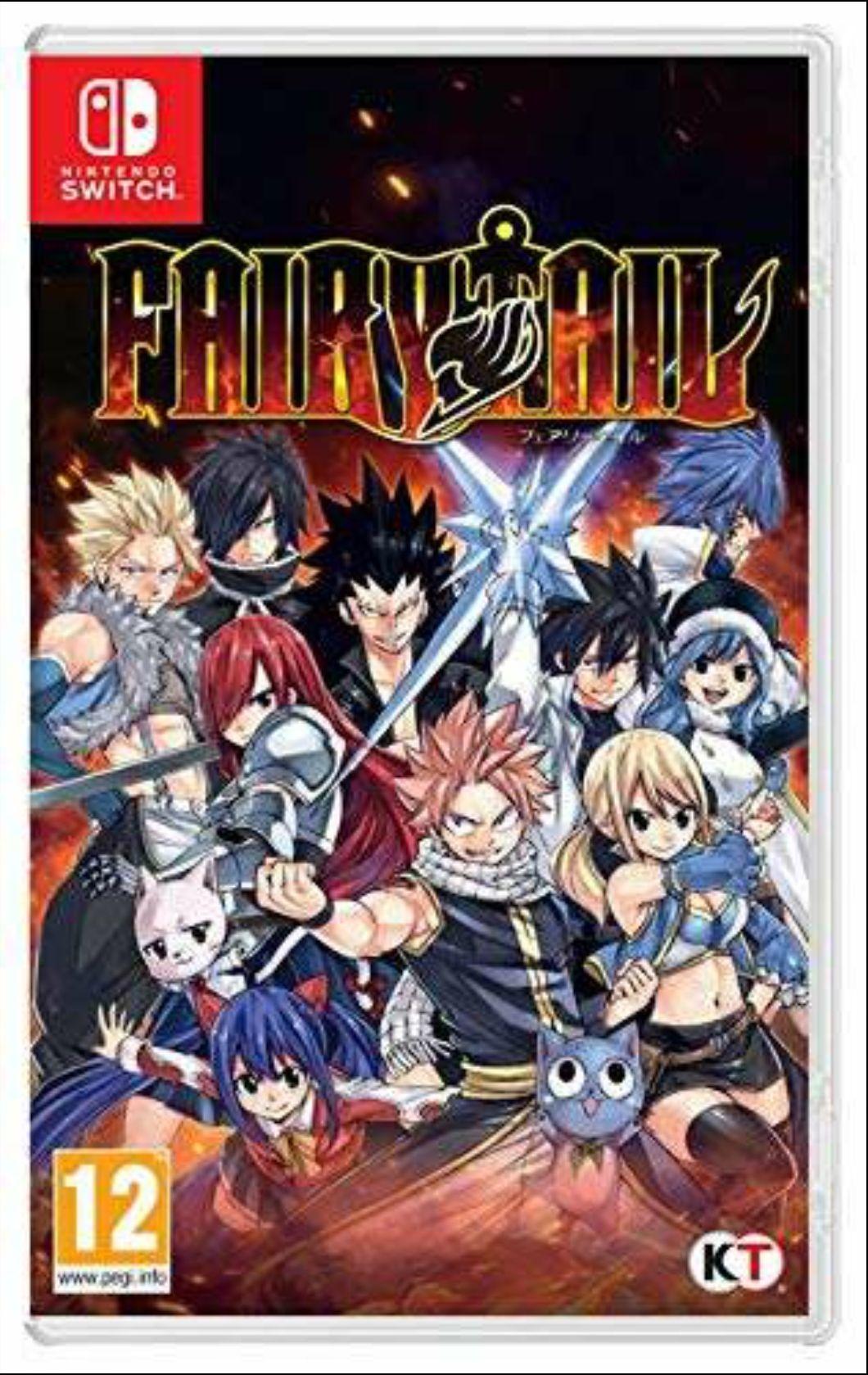 Fairy Tail Nintendo Switch Amazon.es