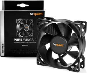 be quiet! Pure Wings 2 80mm Gehäuse Lüfter für 5,90€ inkl. Versand (Amazon Prime)