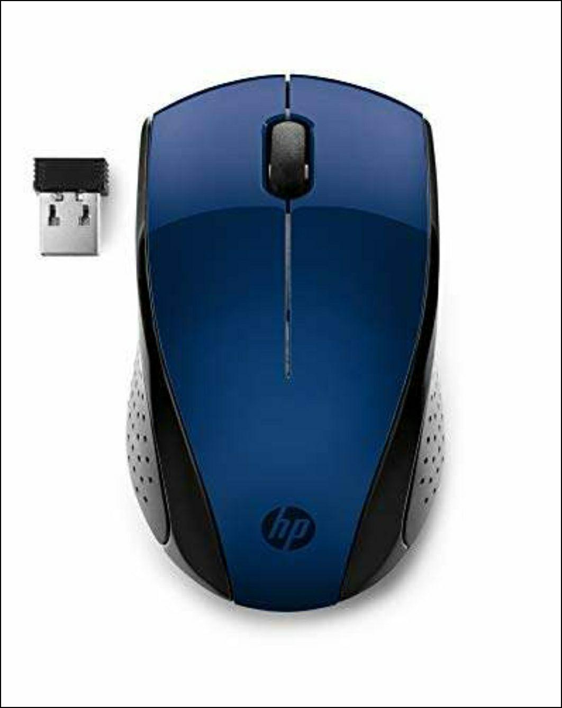 HP 220 - Maus BLAU Amazon.es