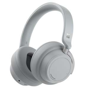 Microsoft Surface Headphones 2 in Hellgrau Over-Ear, Aktives Noise-Cancelling, Bluetooth, 20h Musikwiedergabe, Touch Control]
