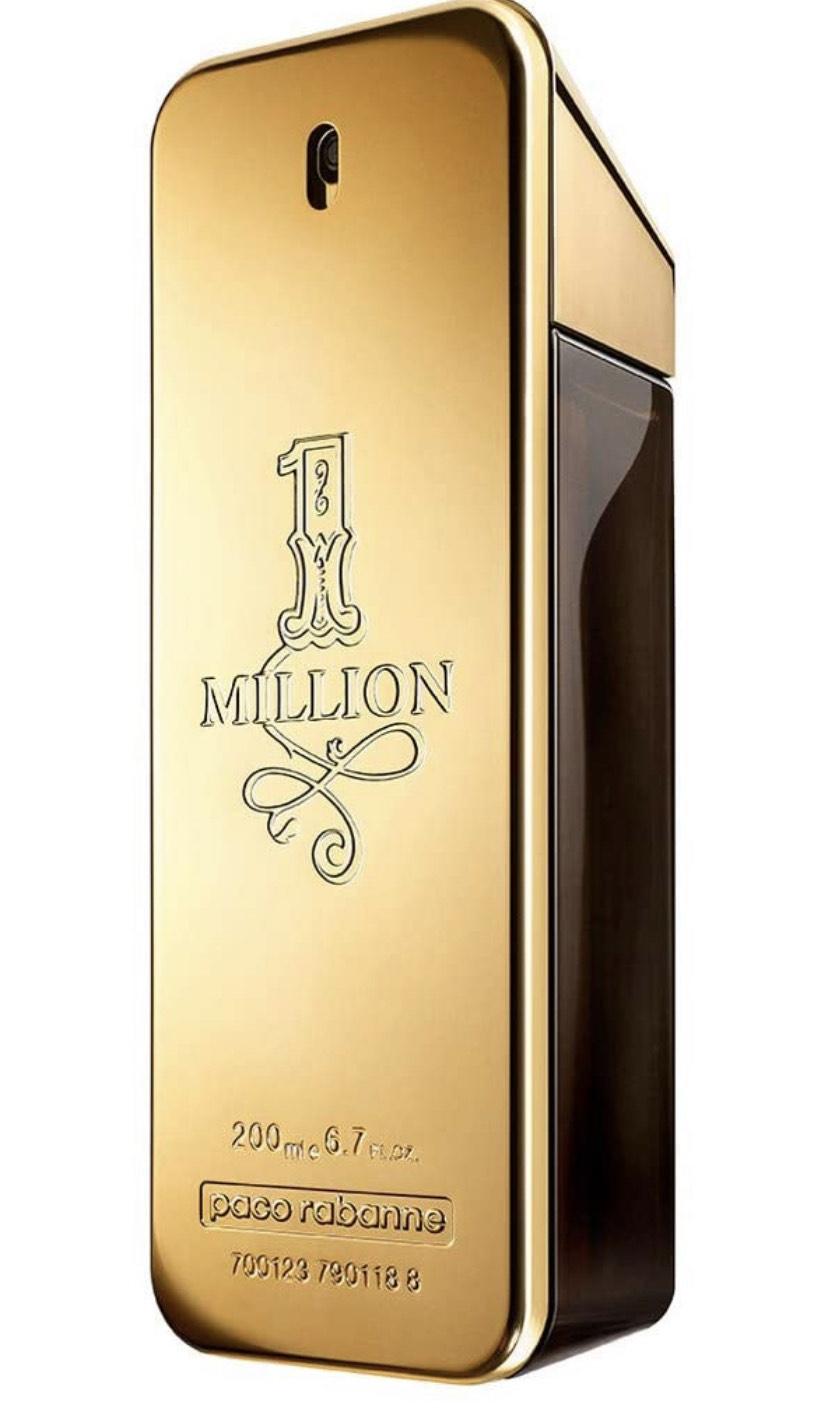 Paco Rabanne One Million homme/ men, Eau de Toilette, Natural Spray, 1er Pack (1 x 200 ml)