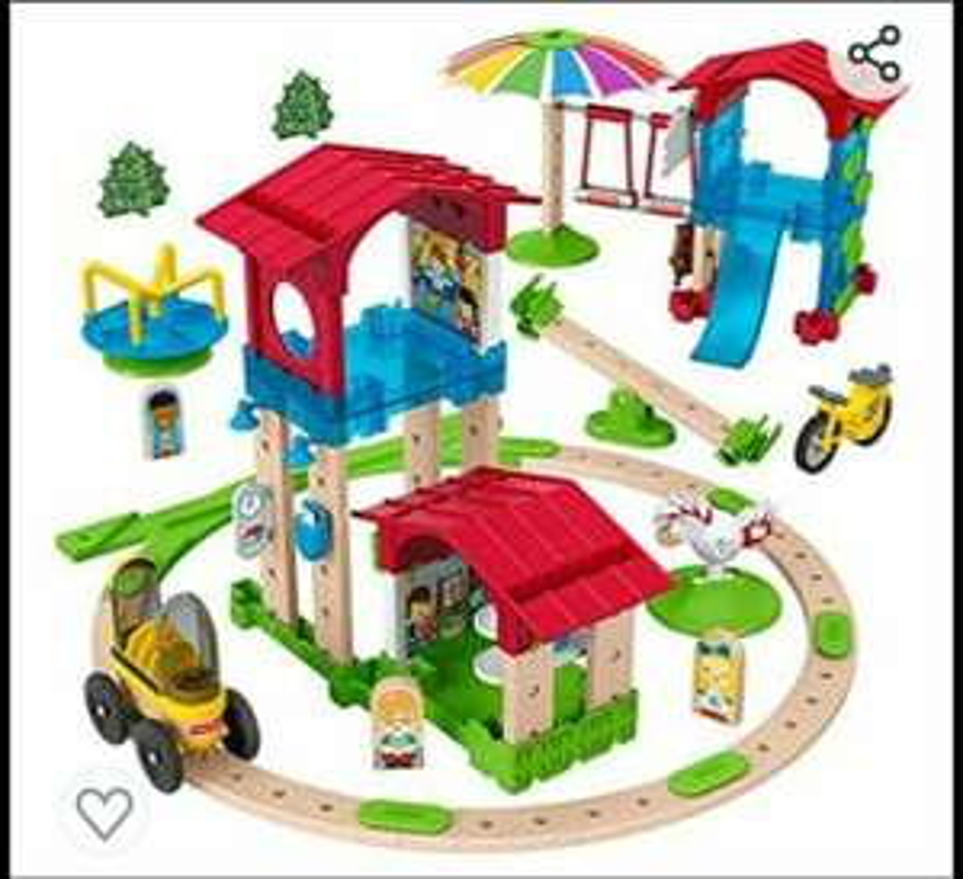 Fisher-Price Wonder Makers Mini-Schule, Bauspielzeug Kinder +3 Jahre