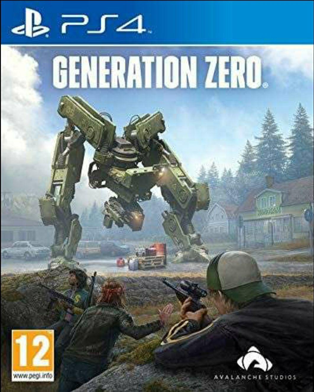 Generation Zero PS4 Standard Edition