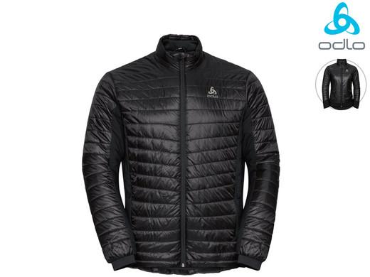 Odlo Cocoon S-Thermic Light-Jacke (Für Damen und Herren verfügbar, Wärmeregulierung, Atmungsaktiv, Wasserabweisend, Größe XS - XXL) [iBOOD]