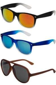 MSTRDS Sport Sonnenbrille für 2,99€ + 3,95€ VSK (10 Farbvarianten verfügbar) [SportSpar]