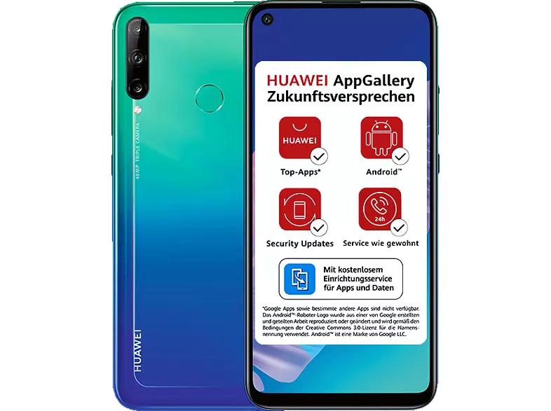 HUAWEI P40 lite E 64 GB Aurora Blue Dual SIM