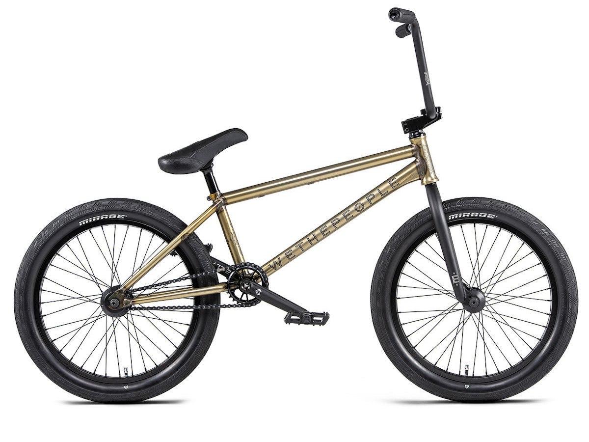 "wethepeople ""Envy LHD"" 2020 BMX Rad - Matt Trans Gold | LHD"