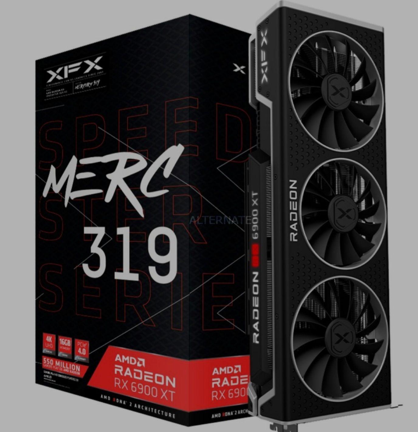 1355.99€ Alternate, XFXRadeon RX 6900 XT Merc 319 Black 16GB, Grafikkarte