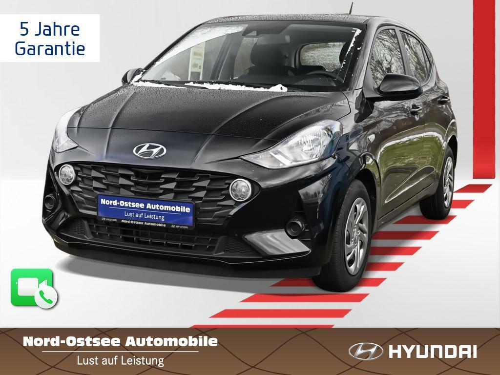 [Privatleasing] Hyundai i10 1.0 Select 2021 (67 PS) für mtl 99,91€, 48 Monate, 10.000km/Jahr mit Klima, BT, Alarm, ohne Überführungskosten