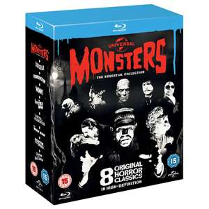Universal Classic Monsters: The Essential Collection Blu-ray