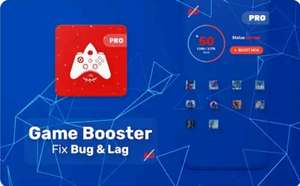 Game Booster PRO - Bug Fix & Lag Fix
