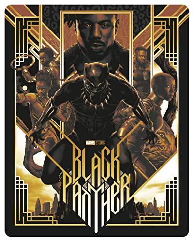 Marvel *Black Panther* 4K Ultra HD + Blu-Ray [Mondo SteelBook]