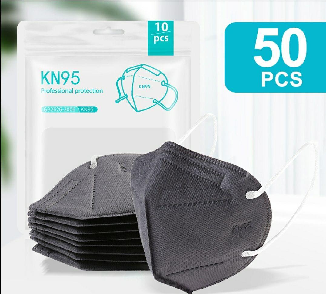[PREISFEHLER] KN95 - 5 Schichten mit Filter, Gesundheitswesen, 50 Stück