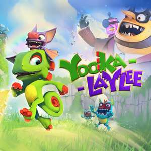 Yooka-Laylee 9.99€ / Yooka-Laylee and the Impossible Lair 11.99€ Nintendo Switch e-Shop