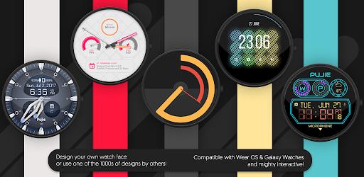 [Google Playstore] Watch Face - Pujie Black - Wear OS & Galaxy Watch