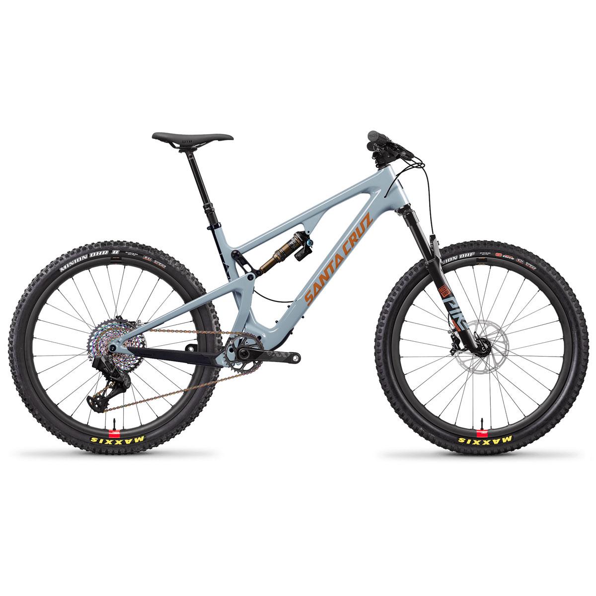 MTB Santa Cruz 5010 XX1 AXS Reserve Carbon CC 27.5 (Carbon CC/Eagle XX1 AXS elektronisch/12,38kg) - 2020 (M,L)