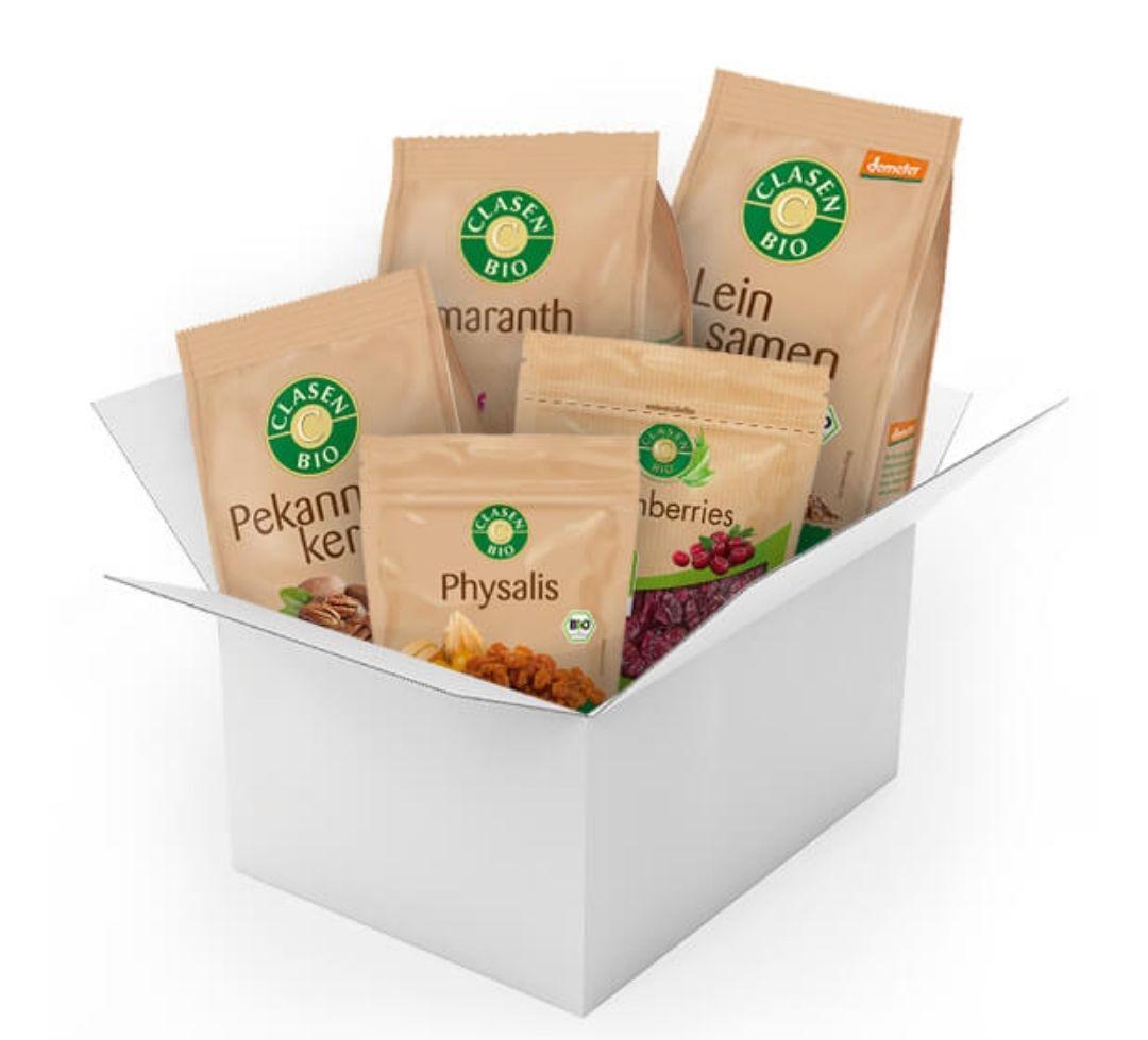 Clasen Bio Frühstücks-Probierpaket