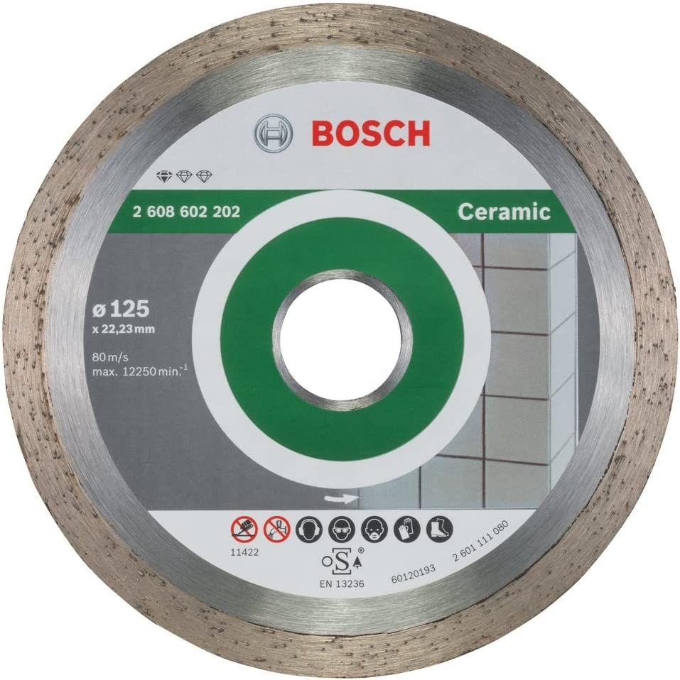 Bosch Professional Diamanttrennscheibe für Keramikfliesen (Ø 125 mm) [Prime]