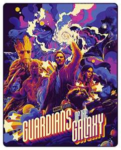 Marvel *Guardians of the Galaxy* 4k Uhd + Blu Ray [Mondo SteelBook]