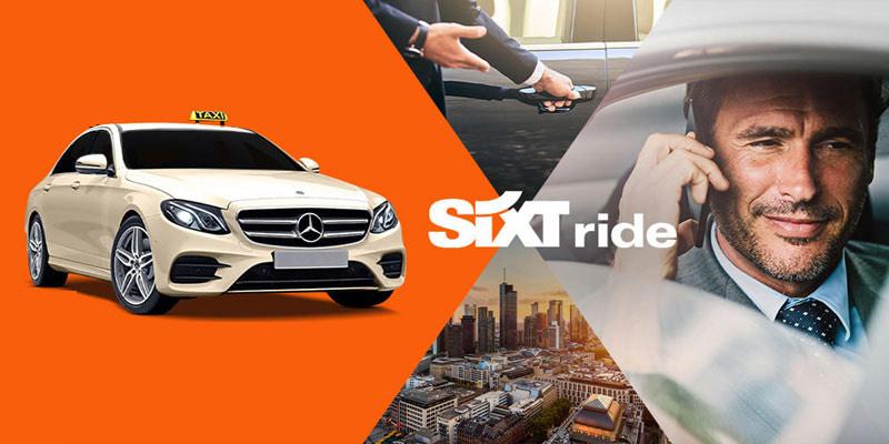SIXT Ride (Taxi) Gutscheincode bis Sonntag VALENTINE21