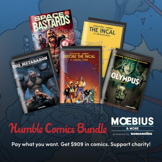 Humble Comic Bundle - Humanoid - Moebius & more