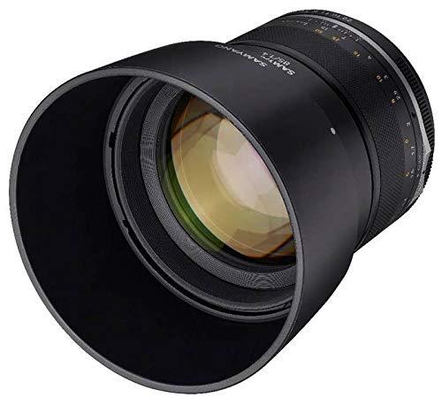 Samyang MF 85mm F1.4 Mark II Objektiv für Fujifilm X-Mount