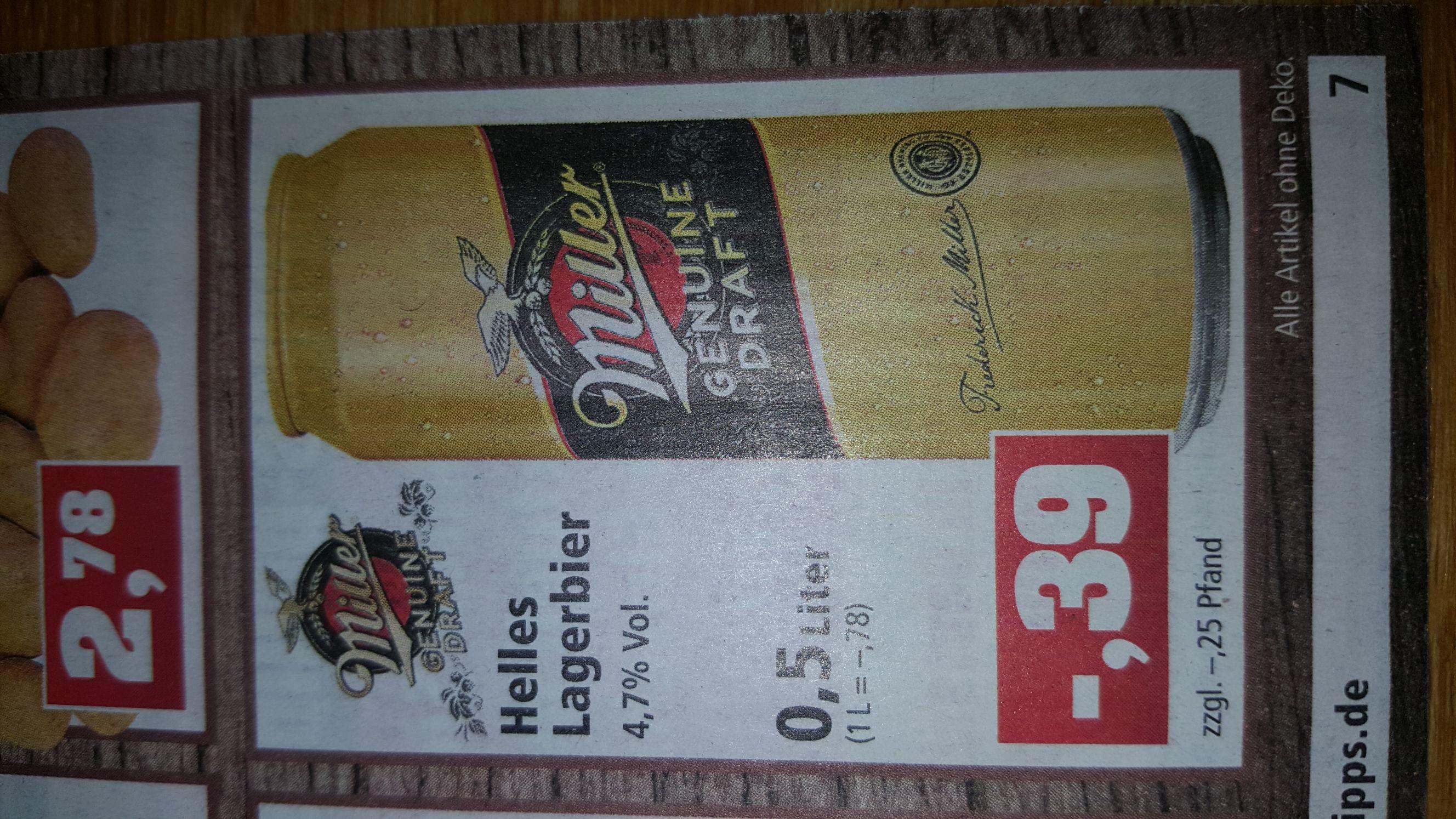 Thomas Philipps Miller Genuine Draft 0,5 Liter Dose