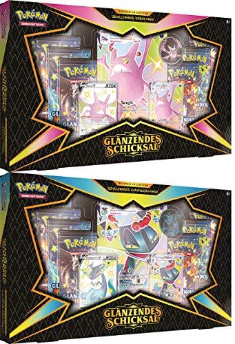 [GER]Pokemon Schillerndes Iksbat-VMax oder Katapuldra Premium Kollektion Box (durch Kontakt mit Kundenservie mögl. beide Boxen zu dem Preis)