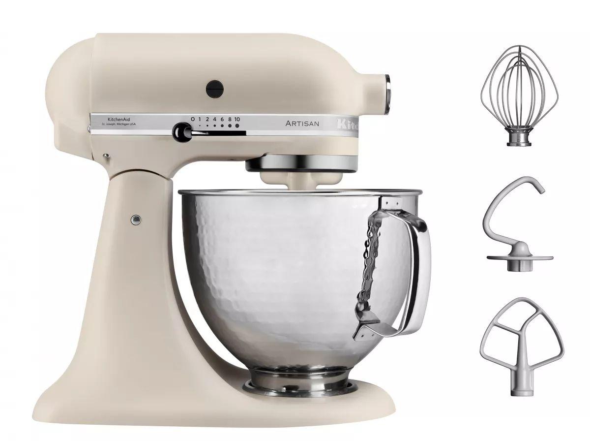 [MediMax] Kitchenaid 5KSM156HMEFL Artisan Fresh Linen Küchenmaschine