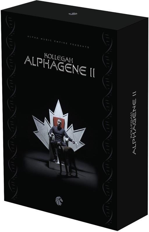 Kollegah – Alphagene II (Premium Box inkl. Album, Bonus-EP, T-Shirt, Kette, Textbuch & Poster)