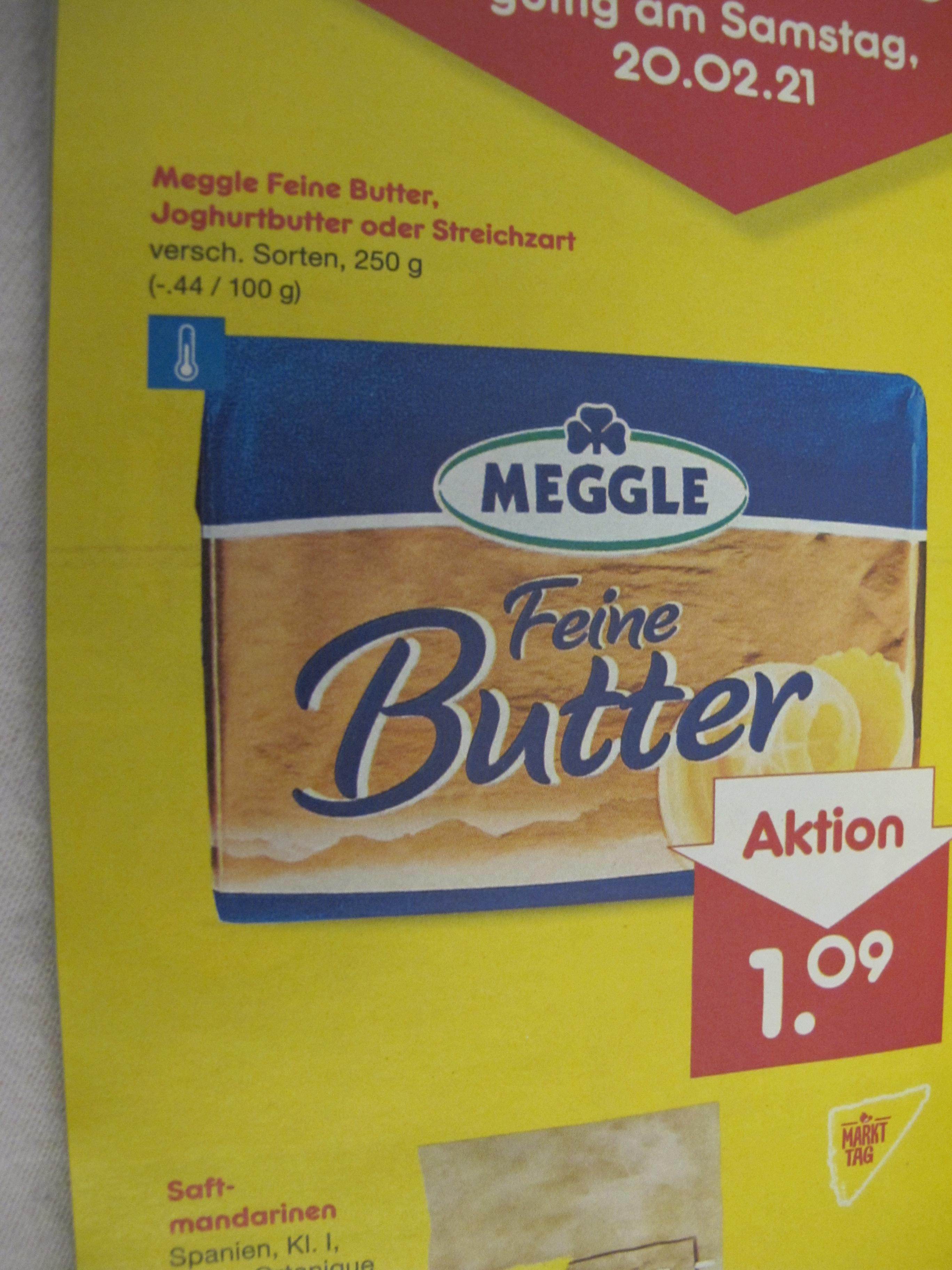 Netto - Meggle Butter für günstige 1,09 Euro