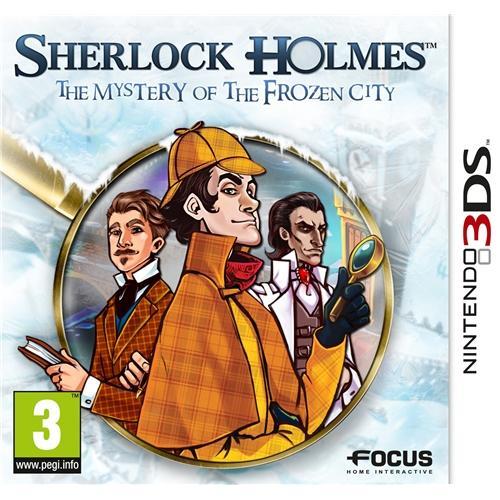 """Nintendo 3DS - Sherlock Holmes """"Das Geheimnis der gefrorenen Stadt"""" für €12,99 [@Play.com]"""