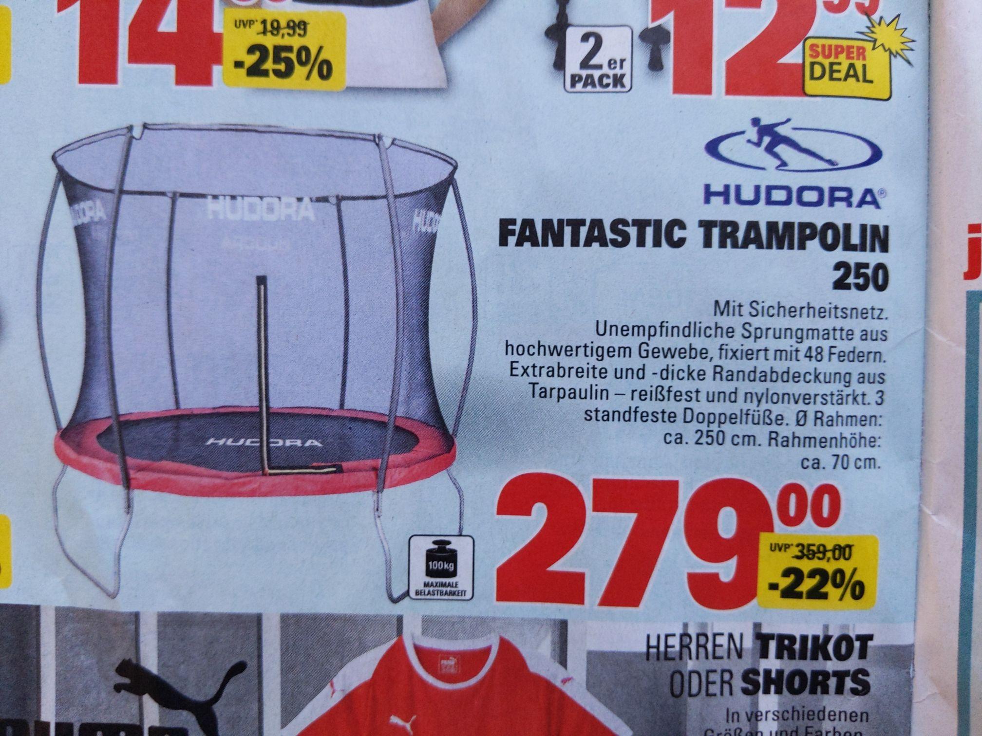 Marktkauf: HUDORA Fantastic Trampolin 250