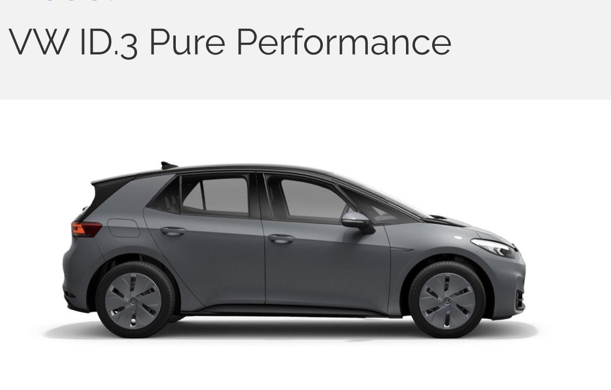 Langzeitmiete / Auto Abo / Leasing Alternative // 24M 299€ p.M.all inkl. Versicherung // 10k km pa. // VW ID3 Pure //150 PS //350km Akku
