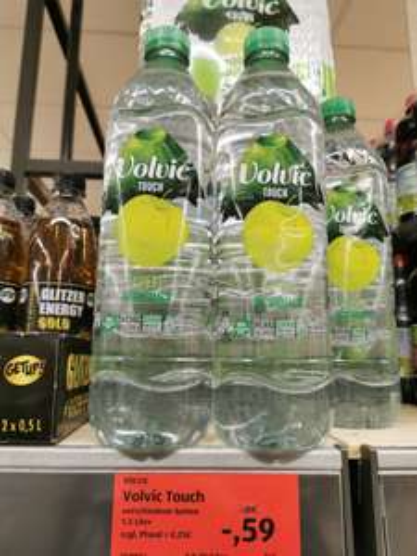 Volvic Touch 1,5 L Flasche Sorte Apfel *Lokal Düsseldorf Aldi Süd
