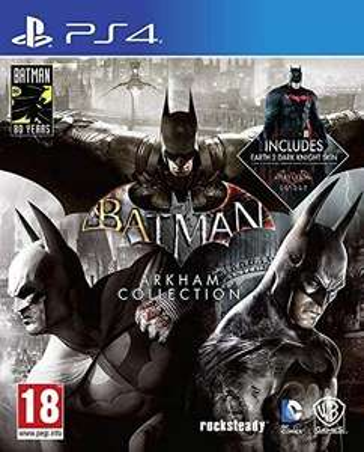 Batman: Arkham Collection PlayStation 4 (PS4)