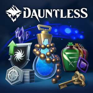 (PS4) Dauntless - Cerulean Slayer PS+ Pack (Playstation Plus)