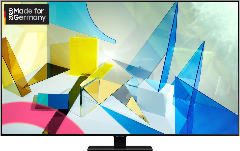 "Samsung 4K QLED GQ49Q80TGT 123 cm (49"") LCD-TV mit LED-Technik carbonsilber"