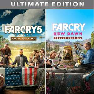 Far Cry 5 Gold Edition inkl. Season Pass & Far Cry 3 + Far Cry New Dawn Deluxe Edition (Uplay) für 15.27€ (Gamebillet)