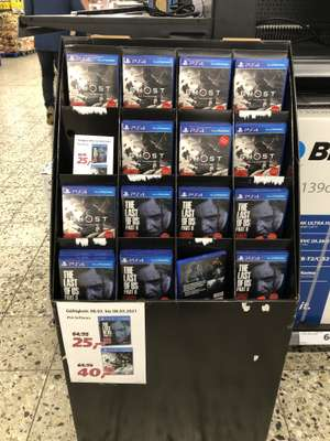 Ghost of Tsushima 40€ / The Last of Us II 25€ Lokal Real Salzgitter Thiede
