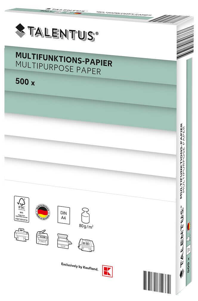 TALENTUS - Multifunktions-Papier - DIN A4 - 500 Blatt [Kaufland]